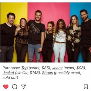 Jessie James Decker Pam & Gela black tee